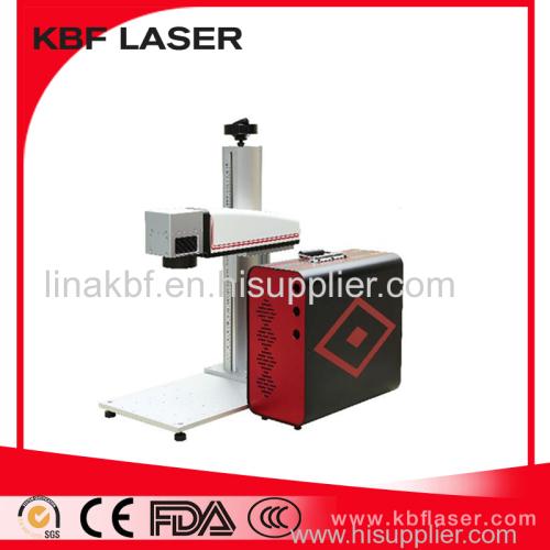 20W/30W/50W Promotion Portable Fiber Laser Marker Machine for Titanium Steel