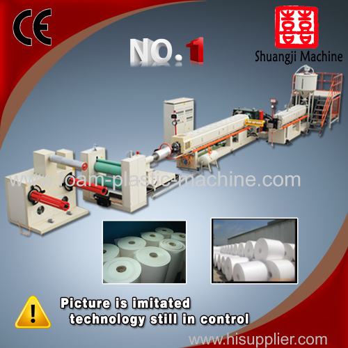 Super quality automatic ps foam sheet extrusion