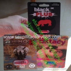 new package rhino 8 rhino 12 rhino 7 black pus black panther sex capsules with factory price accepting paypal