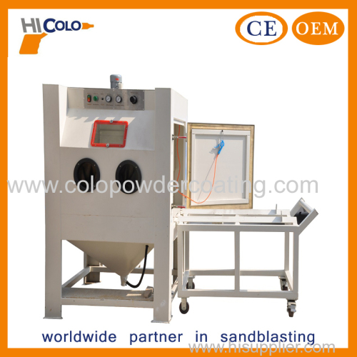 Manual Standard Dry Sand Blasting Equipment with Turntable
