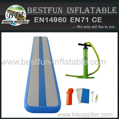 Indoor used sports equipment inflatable air track