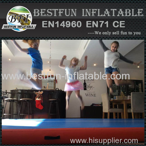 flatable tumble track gymnastics air ramp
