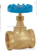 THREADED BRASS GLOBE VALVE