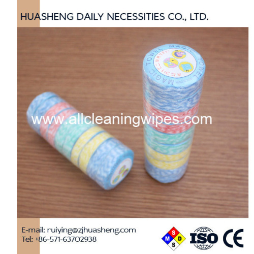 Dry Washcloth Compress Towel Cleaning Napkin