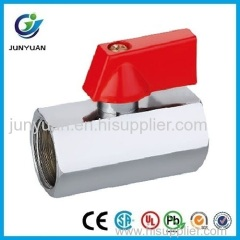 High Quality Brass Mini Ball Valve With ABS handle