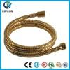 Golden stainless steel hose