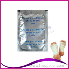 Healthcare bamboo vinegar foot detox patches With Factory Price