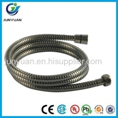 Double Lock Brass Connector Stainless Steel Chrome Flexible Shower Hose