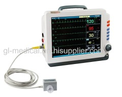 "12.1"" color TFT screen patient monitor"