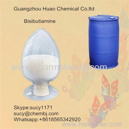 White Solid Pharmaceutical Nootropic Raw Bisibutiamine CAS:3286-46-2 Treating Asthenia