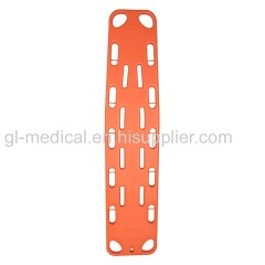 Medical HDPE lightweight spine board stretcher