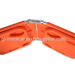 Fast immobilization device for spinal injury Folding Spine Board