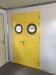 Specialized door for clean room