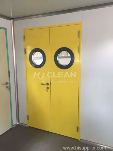 Specialized doors for pharmaceutical hospital electronics clean room