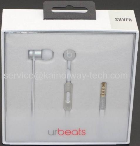 New Boxed urBeats3.0 by Dr.Dre Silver Special Edition Deep Bass Headphones Earphones