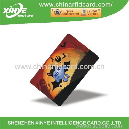 shenzhen intelligent card pvc card with chip I-code 2
