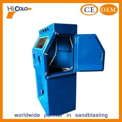 Wet sand blasting cabinet manufacture