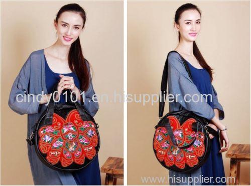 100% Genuine leather handbags messenger bag