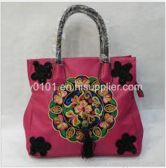 Embroidery Shoulder Bag Crossbody Bag