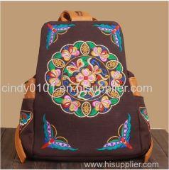 Backpack Lady Bag Canvas Satchel Women Travel bag