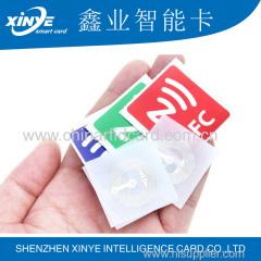 Tag RFID NFC adesivo