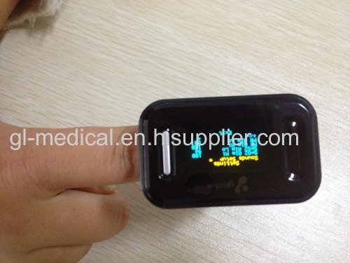 Handheld fingertip pulse oximeter