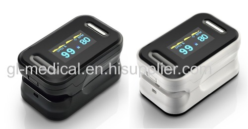 Healthcare fingertip pulse oximeter with OLED display