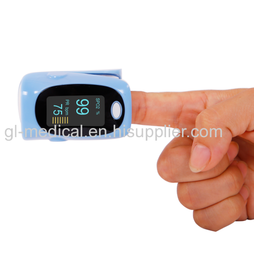 Homecare devices fingertip pulse oximeter with alarm