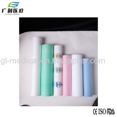 Disposable hospital examination paper bed sheet roll
