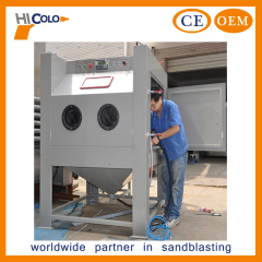 Small Work Piece Surface Treatment Sand Blasting Cabinet