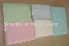 Disposable waterproof dental bibs