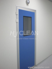 Specialized door for clean room