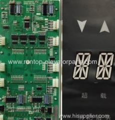 Elevator indicator PCB DAA25250A204 for OTIS elevator