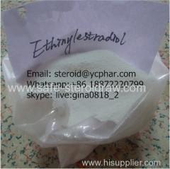 Steroid Hormone Powder Ethinylestradiol