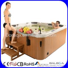Balboa control system outdoor massage hot tub