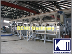 PE PP film washing recycling line