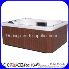 Combo (Air&Whirlpool)Massage Type and Massage Function jacuzy outdoor hot tub