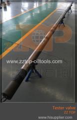 yacimiento válvula de múltiples probador de ciclo para la operación dst