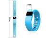 ABS+ silica gel Sport Fitness Activity Tracker Bracelet