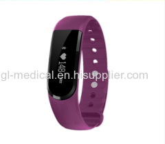 Waterproof fitness activity tracker bracelet