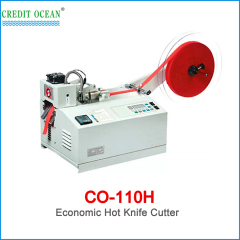 CREDIT OCEAN high speed economic hook and loop round cutting machine