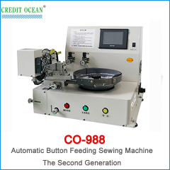 Automatic button feeder &sewing machine