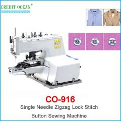 CREDIT OCEAN Single Needle Zigzag Lock Stitch Button Sewing Machine