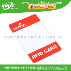 RECO-View Printable Rewritable RFID Card
