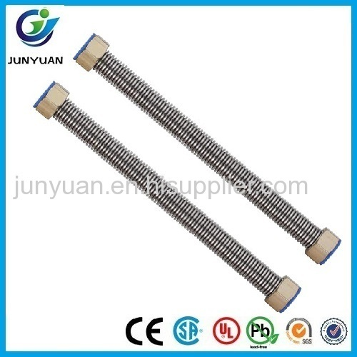 flexible rubber hose metal gas pipe