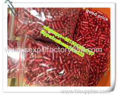 good selling loose big size red blue gold black silver male sex capsules