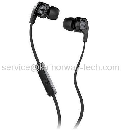 Wholesale SkullCandy Smokin' Buds 2 Wired Black In Ear Earphones With In-Line Control And Mic