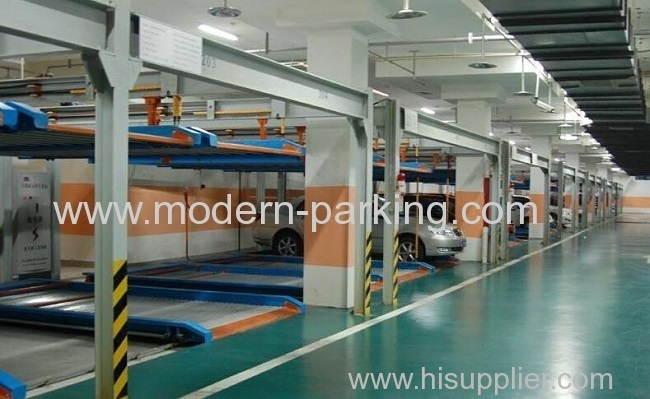 Production cost of intelligent car parking garage