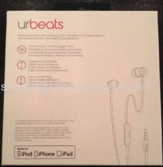 New urBeats Headphones Earphones With Mic by Dr.Dre Red Special Edition In Retail Packaging
