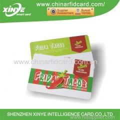13.56mhz Vollfarbdruck / leere kontaktlose rfid Smart Card